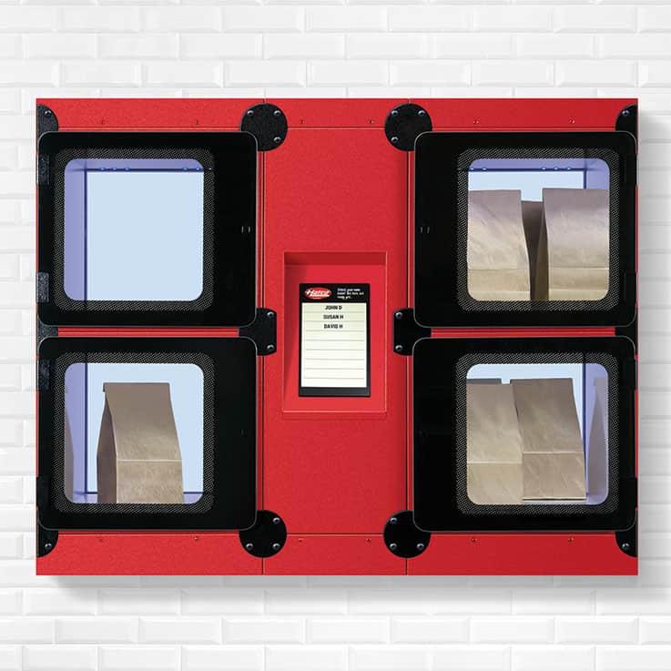 Hatco FLAV-R 2-GO® built-in locker systems