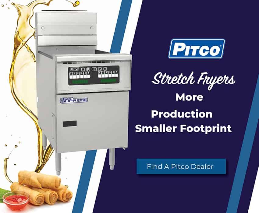 Pitco Stretch Fryers