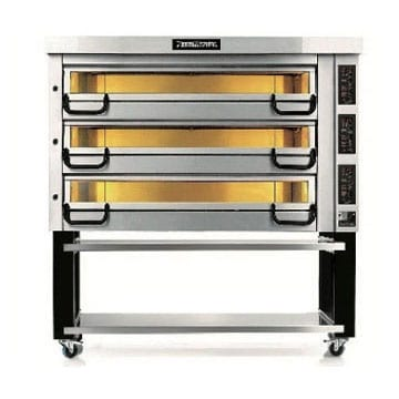 PizzaMaster Oven Four-Stone Hearth Three Deck