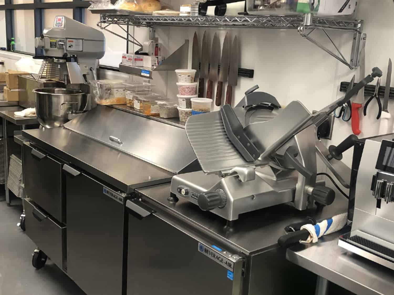 Slicer Mixer Prep Table